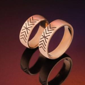 Deivido ir Neringos vestuviniai žiedai