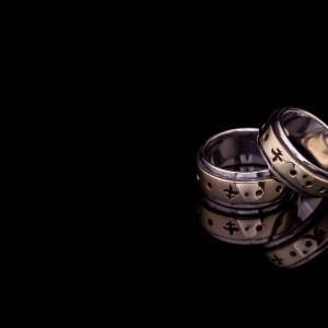 Aleksandro ir Indrės vestuviniai žiedai