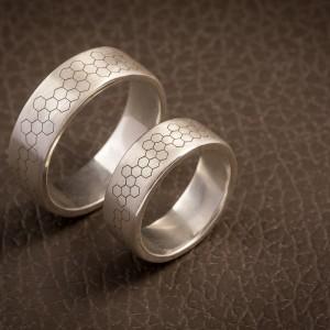 Julijos ir Artūro vestuviniai žiedai