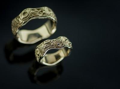 Laimučio ir Monikos vestuviniai žiedai