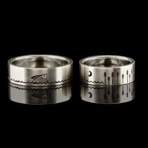 Šarūno ir Gerdos vestuviniai žiedai