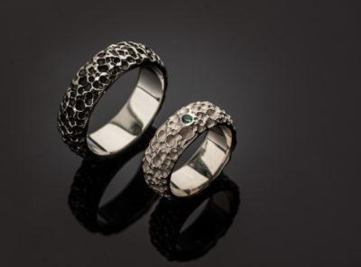 Konstantino ir Elenos vestuviniai žiedai