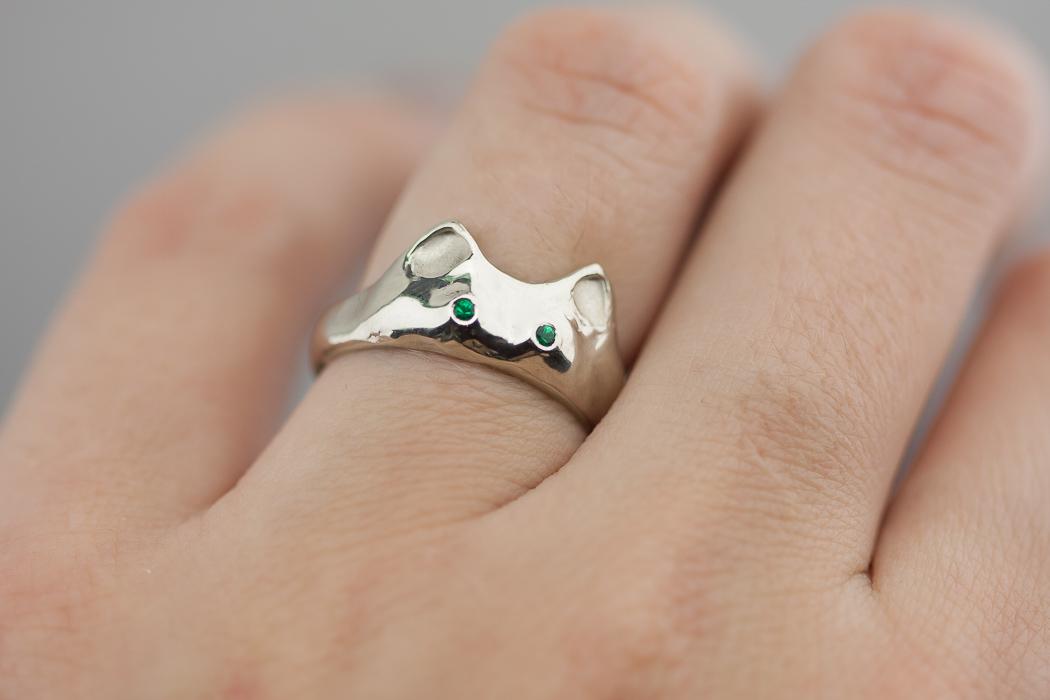 Sužadėtuvių žiedas katinas
